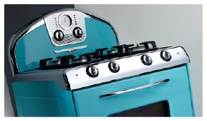 Antique appliances, retro refrigerator, reproduction stove and ... on turquoise kitchen color ideas, turquoise retro furniture, red retro kitchen ideas, turquoise home decor ideas,