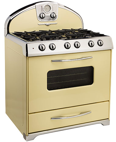 Northstar retro stoves, fridges and ranges, 1950 retro
