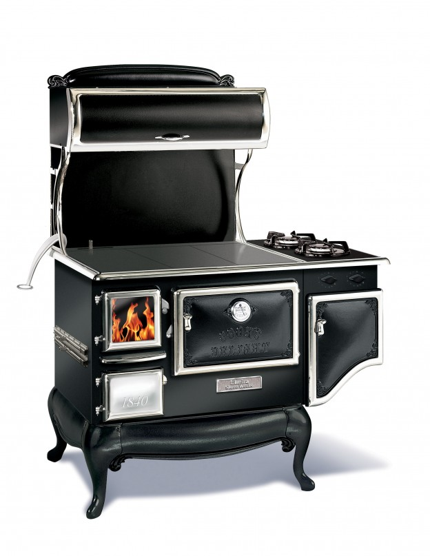 1842g Dual Fuel Cookstove Black