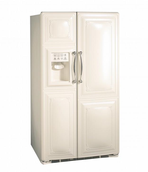 1897 Side x Side Fridge Bisque