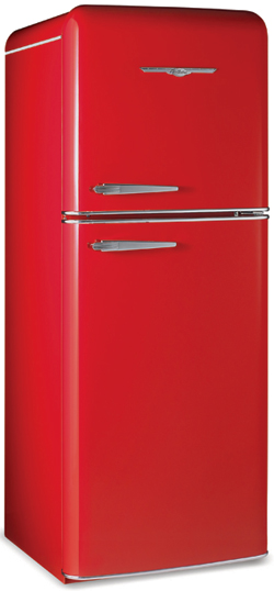 1951 Retro Red fridge