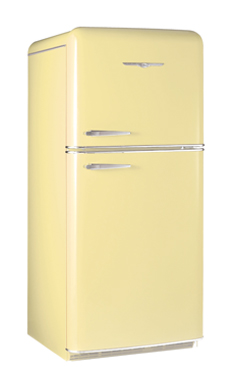 Ft Top Freezer Shown In Ercup Yellow Click For Details