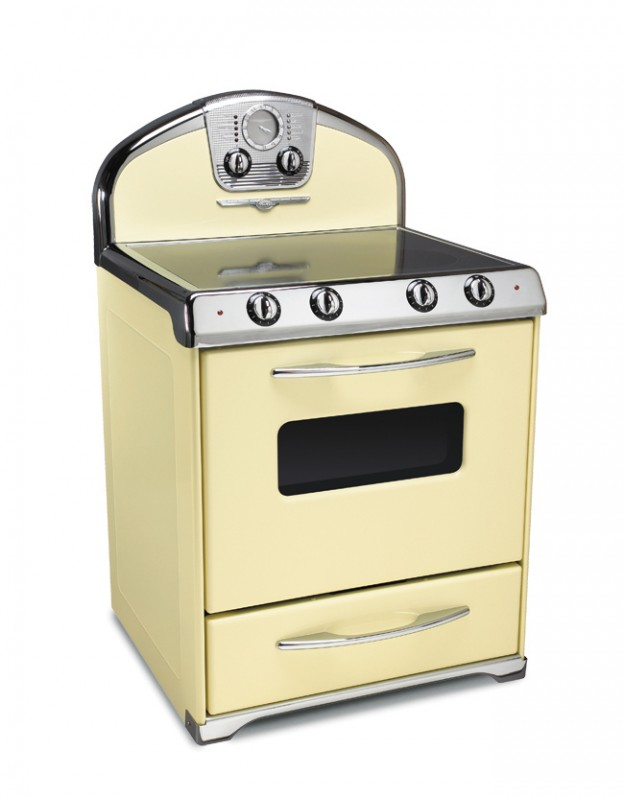 Electric Kitchen Stoves ~ Northstar ranges all electric retro range