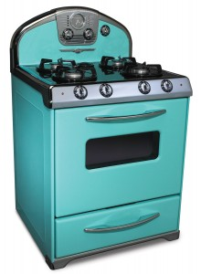 1956 All-Gas Range Robin's Egg