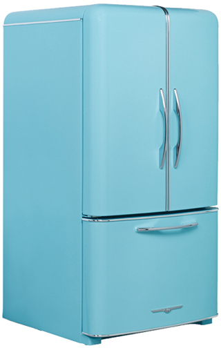 1958 retro fridge