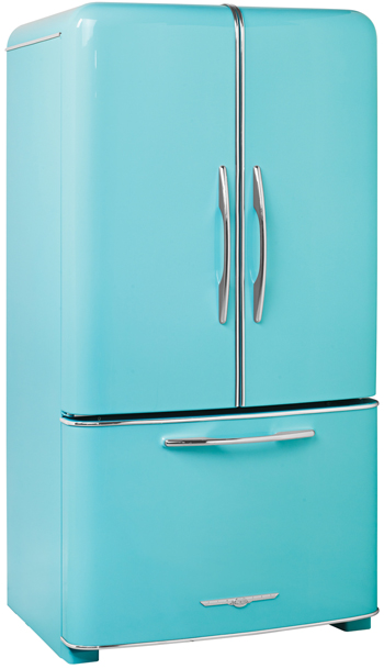 Northstar retro fridges, 1950 retro refrigerators ...