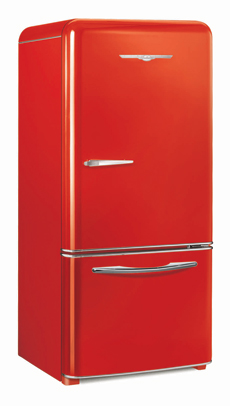 1950 Retro Red fridge